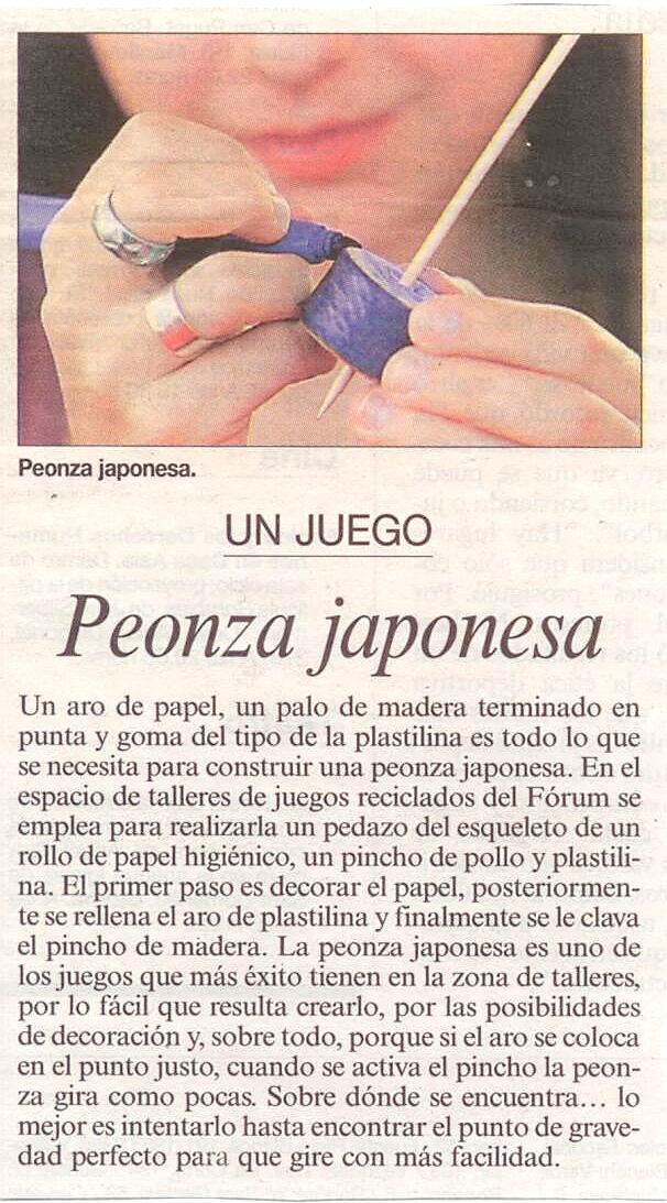 Peonza Japonesa