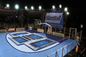 Slamball Pista