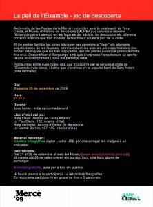Flyer per la web de jocs pel darrere