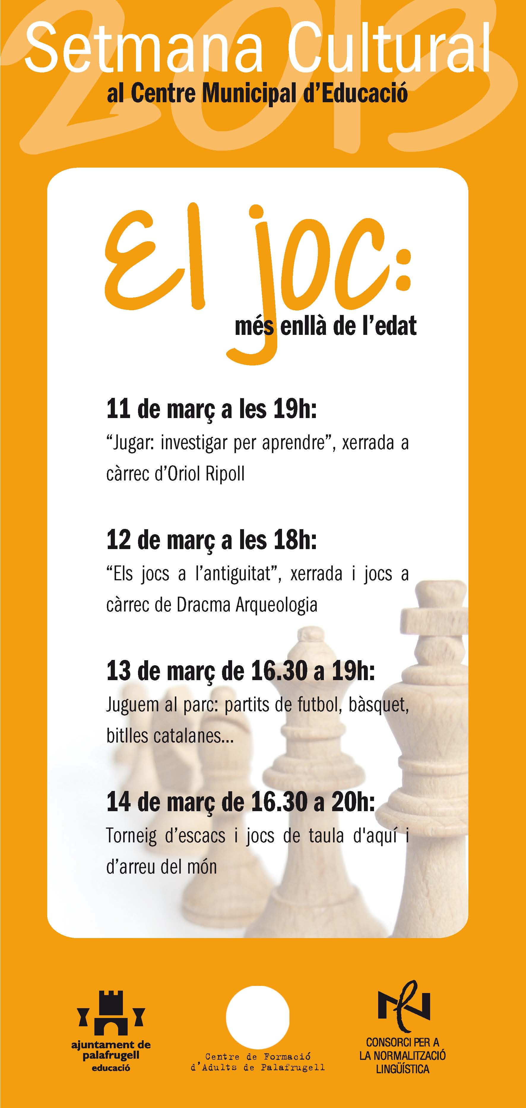 201303 setmana cultural Palafrugell