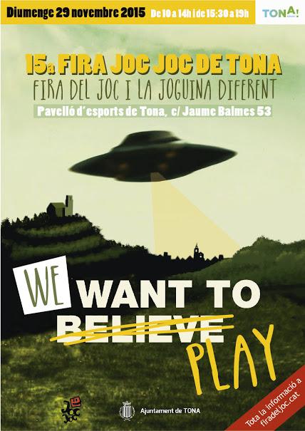 cartell de la fira del joc