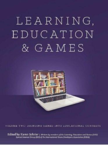 La recomanació d'avui són jocs aplicats a entorns d'aprenentatge. Hi ha tres llibres i una llista de més de cinquanta jocs que vinculen joc i educació.